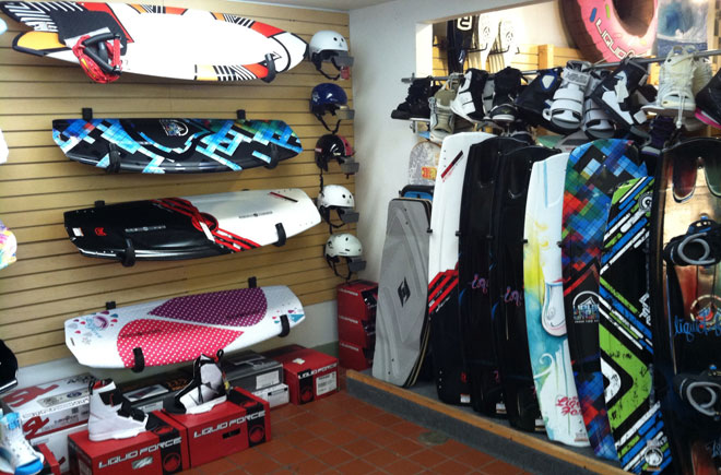 Wakeboarding products at Mountain Rec