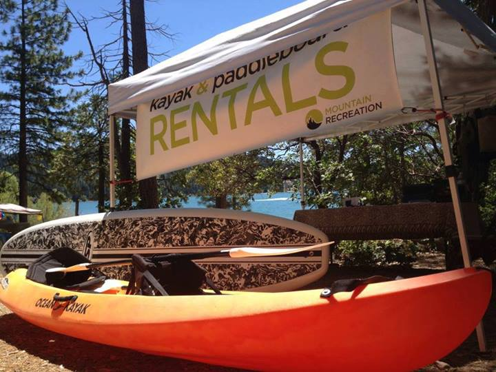 Rentals available all week long at Scott's Flat Lake Nevada City